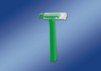 Double sterile razor blade for properative shaving